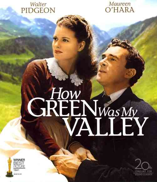 HOW GREEN WAS MY VALLEY BY PIDGEON,WALTER (Blu-Ray)